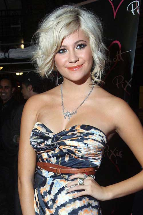 Cute Short Blonde Hairstyles Pixie Lott