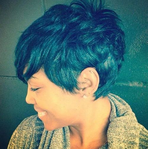Best Cute Short Curly Pixie Hair for Black Women