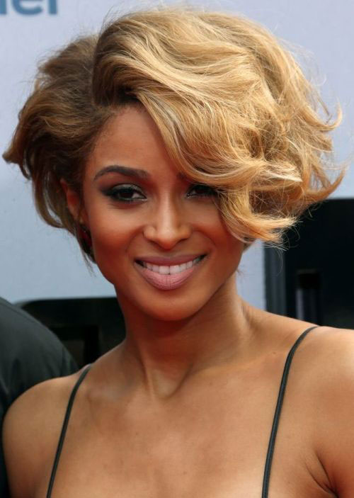 Cute Short Curly Wavy Hairstyles for Black Women