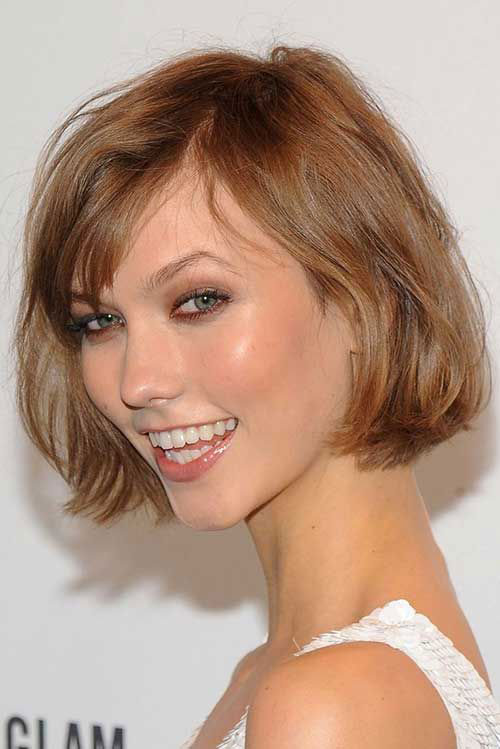 Best Cute Short Haircuts Fine Hair with Bangs