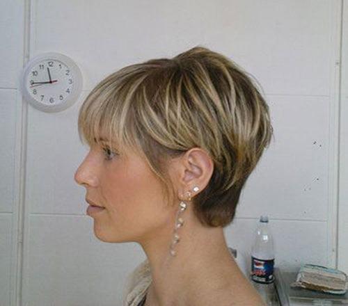 Cool 10 Cute Short Haircuts With Bangs Short Hairstyles Amp Haircuts 2015 Short Hairstyles Gunalazisus