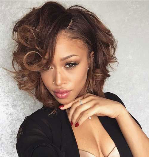 Cute Short Bob Hairstyles Black Women