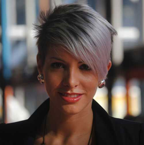 Best Cute Short Hairstyles for Grey Hair