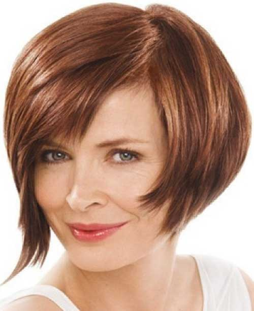 Best Cute Short Layered Hairstyles for Round Faces