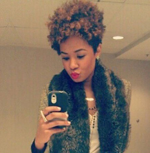 Cute Short Thick Curly Haircuts for Black Women
