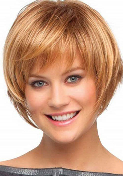 Cute Short Thin Bob Haircuts with Bangs