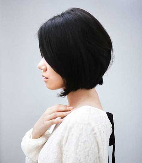Dark Asian Bob Hairstyles Ideas