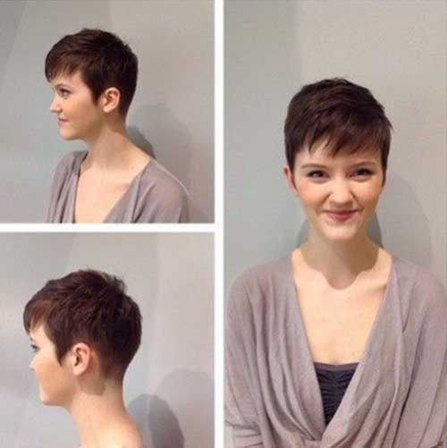 Best Dark Pixie Cut 2016