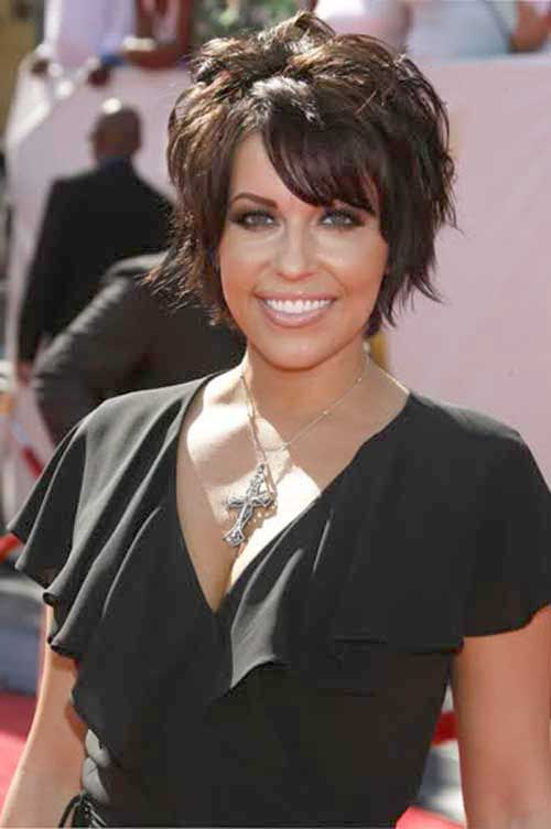 Farah Fath Short Layered Hair