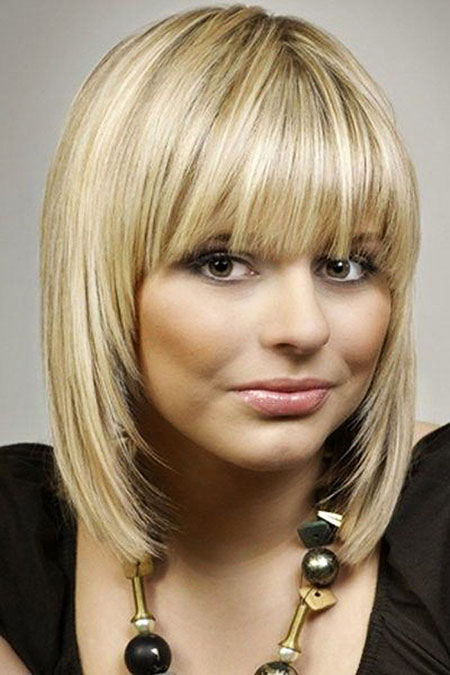 Alluring Short Straight Hairstyles With Bangs Short