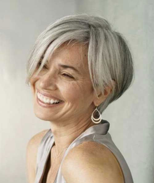 Best Gorgeous Short Hairstyles for Grey Hair