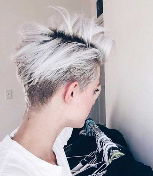 Granny Hair Trend Short Cut 2016