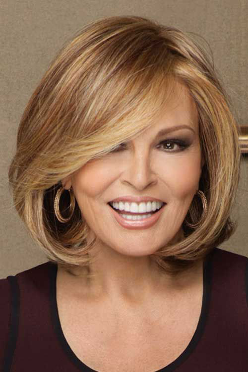Highlighted Bob Haircuts for Older Women