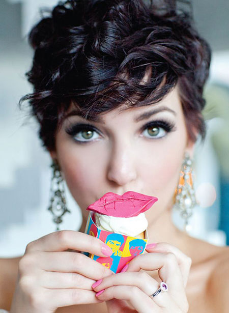 40 New Hairstyles For Short Curly Hair Short Hairstyles