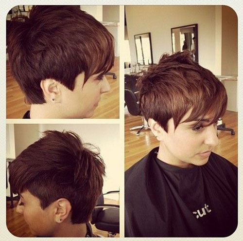 New Short Pixie Hair Cuts 2015