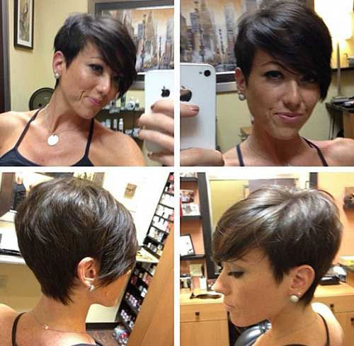 New Short Straight Hair Cut Ideas