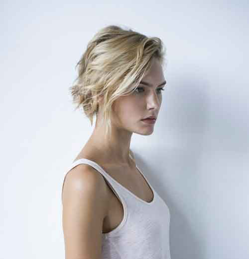 New Short Wavy Blonde Hair Cuts