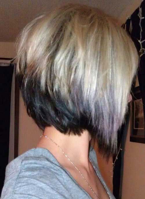 Best Newest Inverted Haircuts for Short Hair