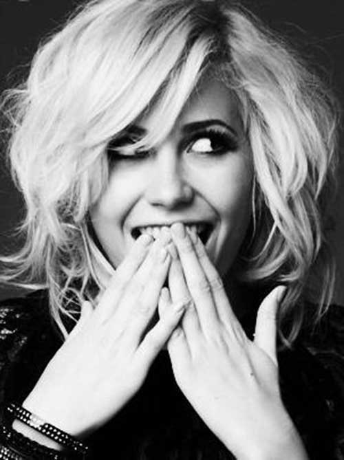 Chic Pixie Lott Bob Hair