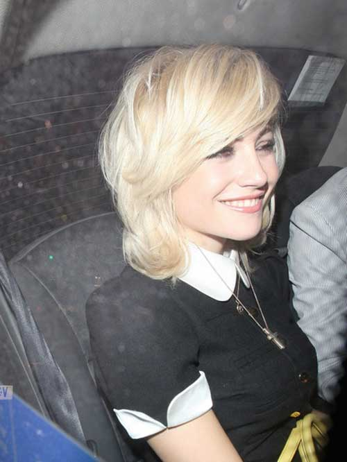 Nice Pixie Lott Hair Short
