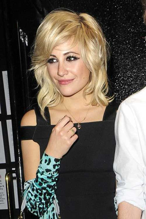Best Pixie Lott Heart Shaped Face Hairstyles