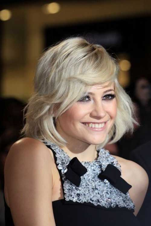 Best Pixie Lott Short Hair
