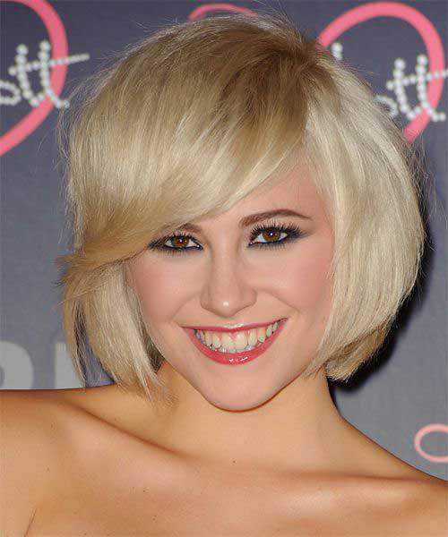 Best Pixie Lott Short Hairstyles with Side Bangs