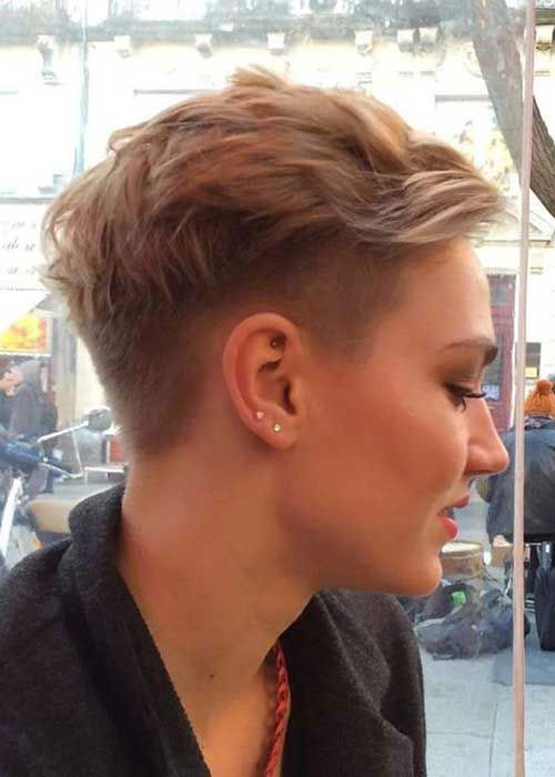 Pixie Undercut Hairstyles for Girls