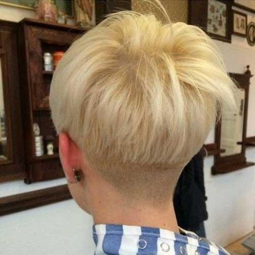 Pretty Undercut Short Hair Cut