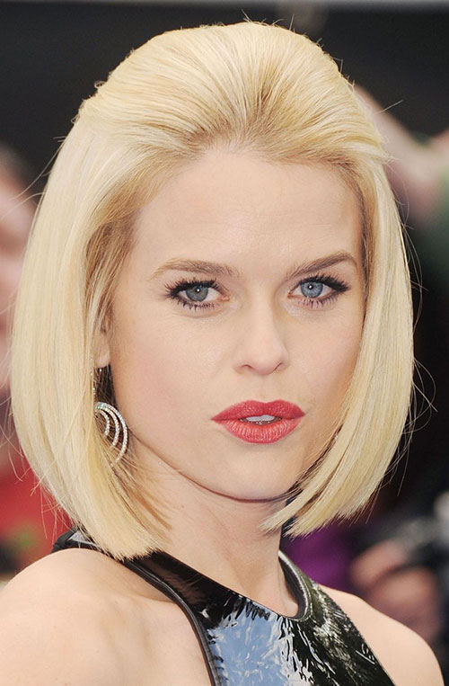 Best Short Blonde Straight Hair Actress