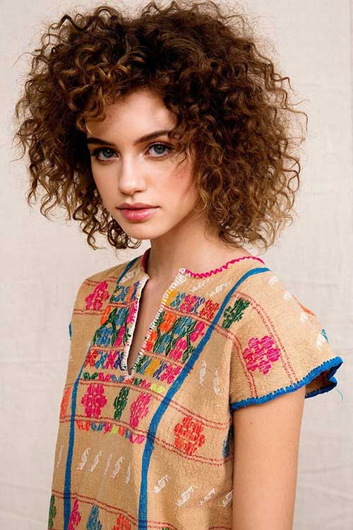 20 Short Curly Afro Hairstyle | Short Hairstyles & Haircuts | 2019 - 2020