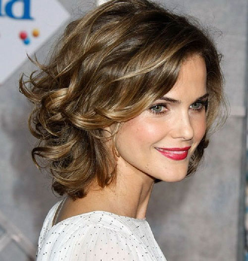 Best Short Cute Curly Hairstyles for Thick Hair