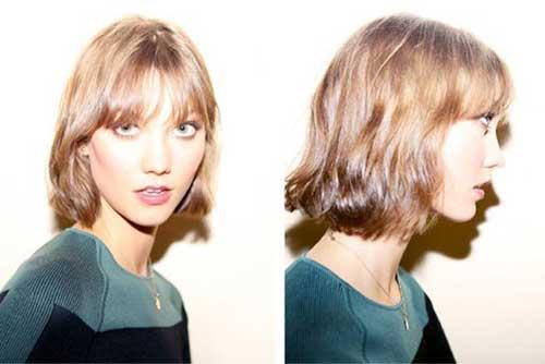 Karlie Kloss Short Hair Styles 2015