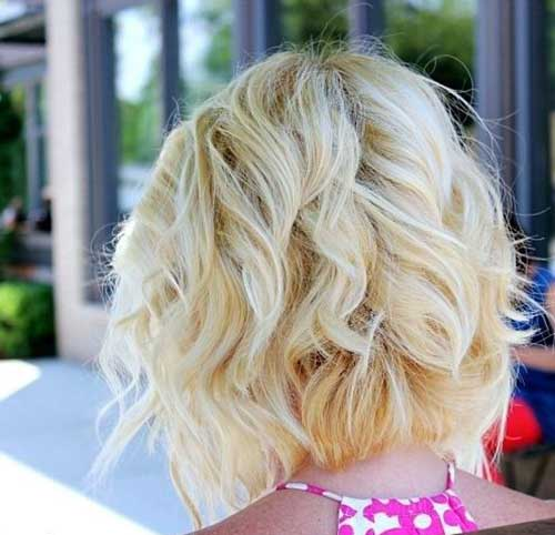 Short Haircut Back View Style 2016