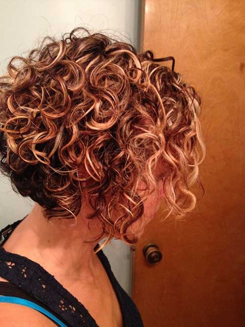 Nice Short Haircuts for Curly Thick Hair