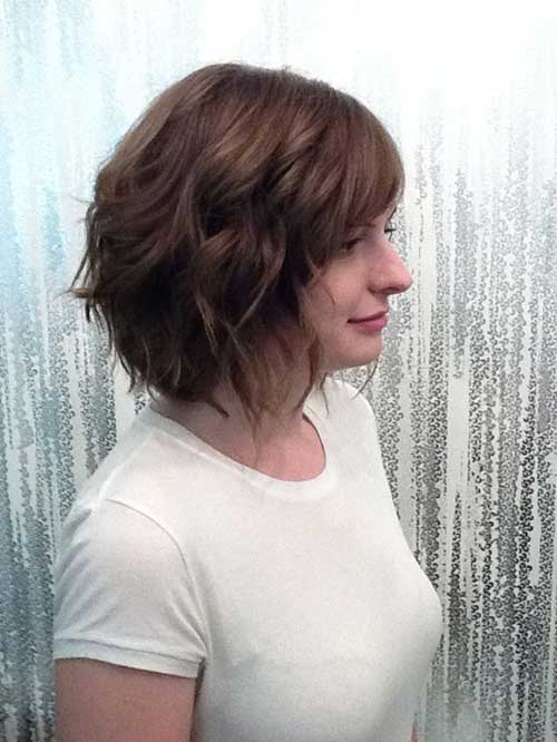 15 short hairstyles for thick wavy hair short hairstyles short brown haircut for thick wavy hair urmus Choice Image