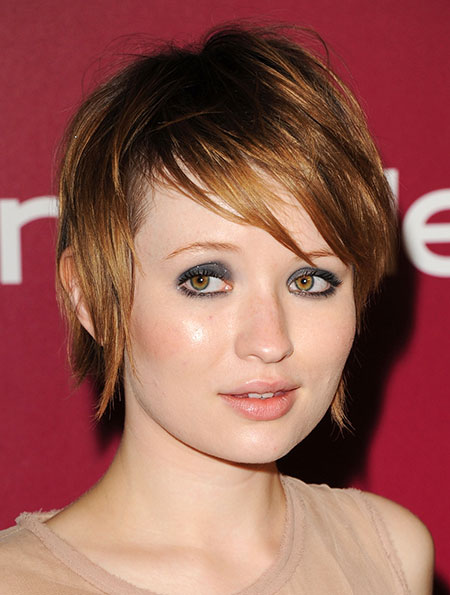 Short Haircuts Round Faces