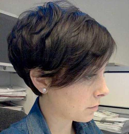 Best Short Layered Haircuts with Bangs 2015