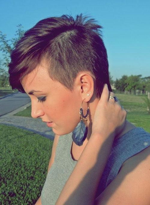 Short Pixie Hair Styles for Girls