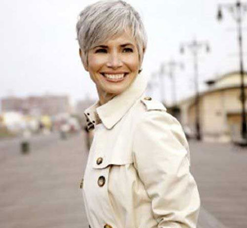 Best Short Pixie Hairstyles for Grey Hair