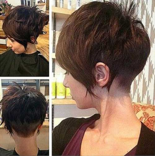 Short Shaved End Pixie Style Haircuts 2016