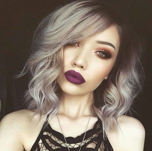 Short Silver Grey Haircuts