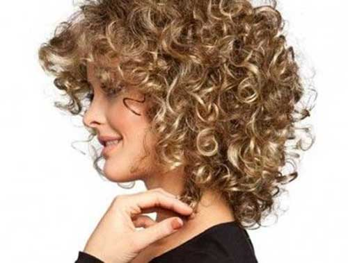 Best Short Thick Curly Blonde Hairstyles