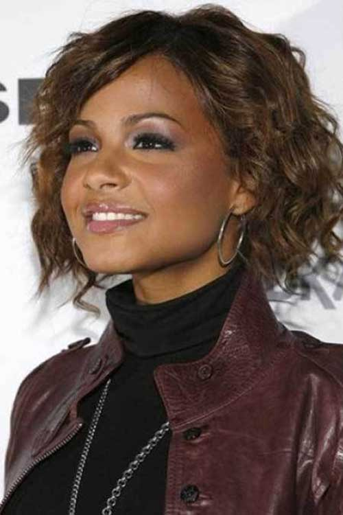 Short Thick Naturally Curly Hair Styles