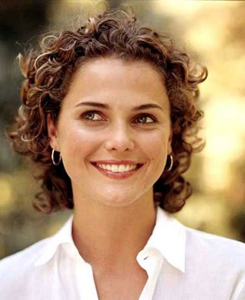 Best Short Thin Curly Hair for Round Faces