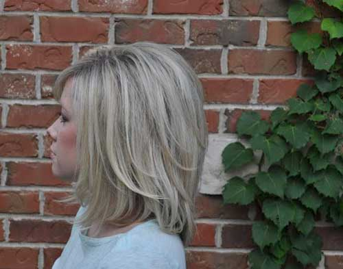 Side View of Cute Medium Short Haircuts