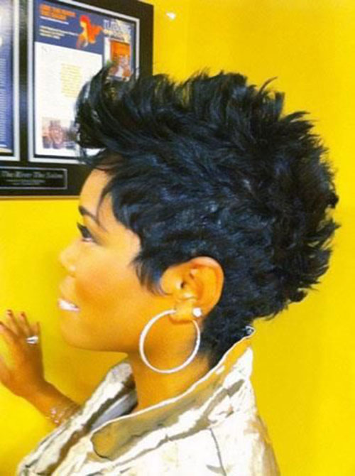 Best Spiky Short Cute Hairstyles for Black Women
