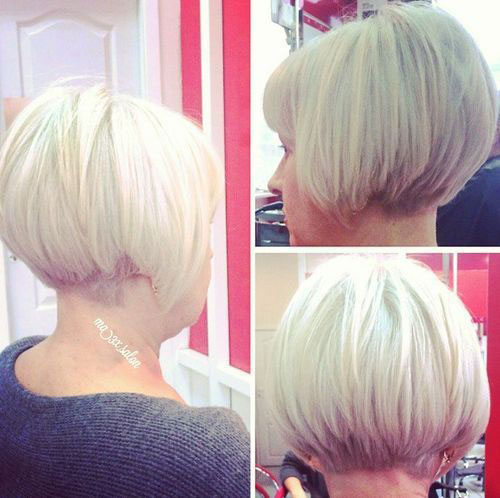 Best Stacked Bob Haircuts for Older Women