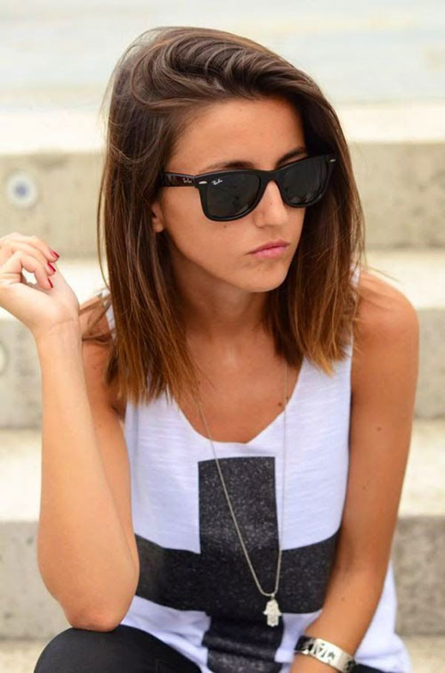 Best Straight Short Hairstyles for Girls