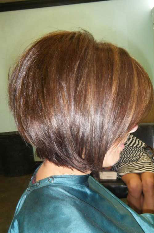 Thick Short Bob Hairstyles for Girls